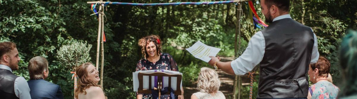 Outdoor Wedding Ceremony Yorkshire Celebrant