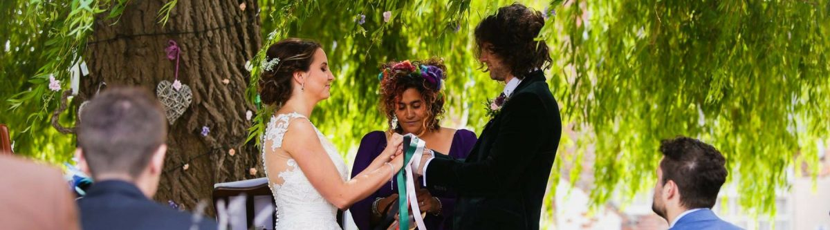 Handfasting Ceremony York Wedding Celebrant