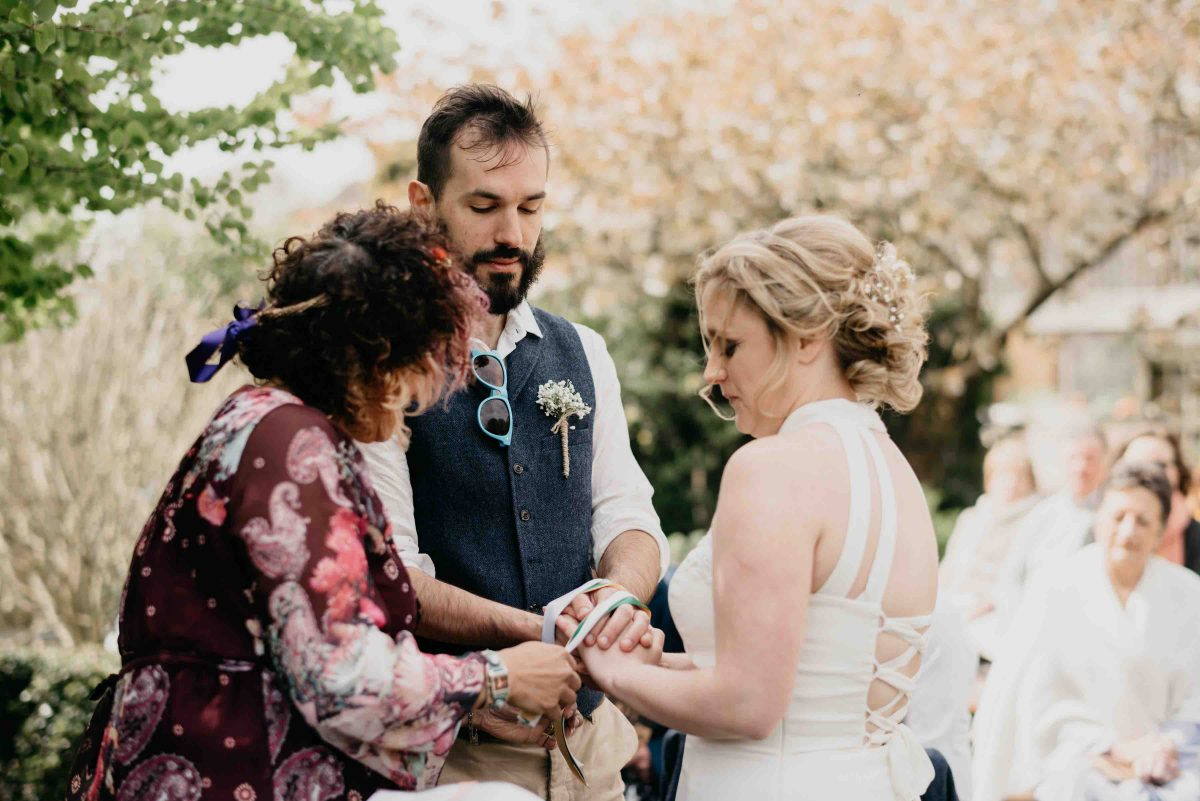 Yorkshire Wedding Celebrant Handfasting Ceremony