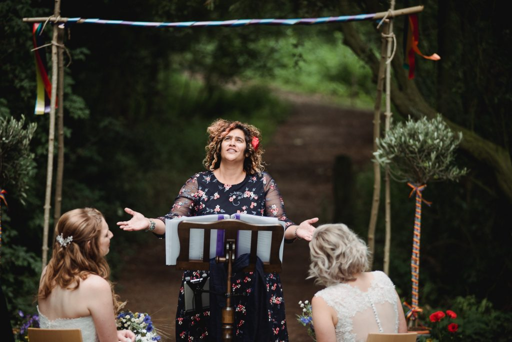 Yorkshire Celebrant Wedding Ceremony