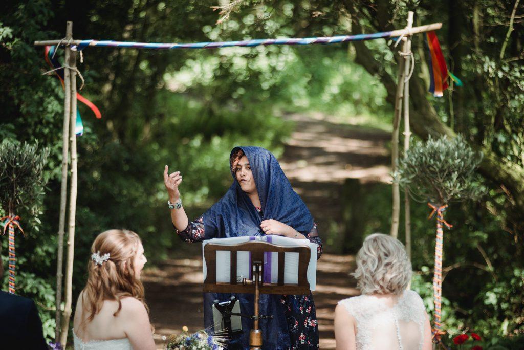Yorkshire Celebrant Wedding Themed Ceremony