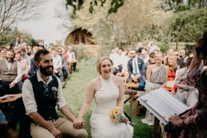 Yorkshire Celebrant Wedding Ceremony at Wold Top Brewery
