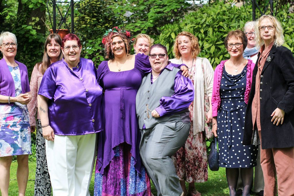 Yorkshire Celebrant Same Sex Wedding in Leeds